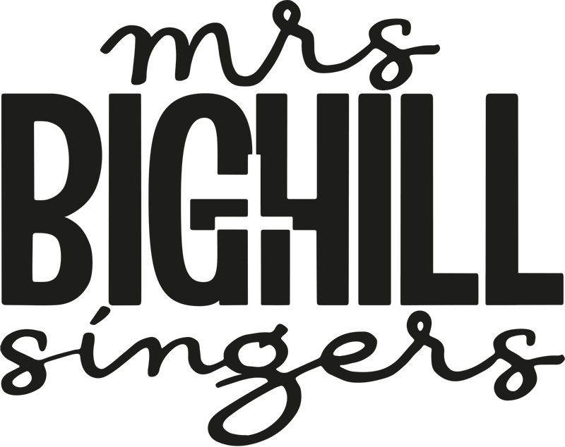 Mrs Bighill Singers Logo